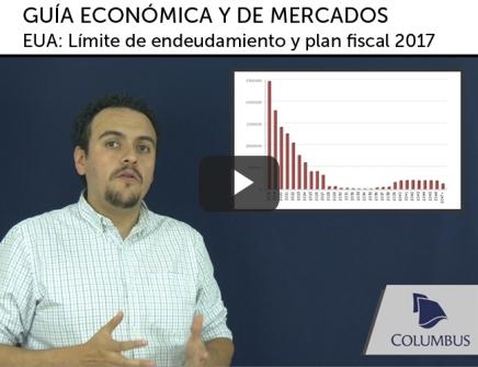 Video de Guía Económica y de Mercados; EUA: Límite de endeudamiento y plan fiscal2017