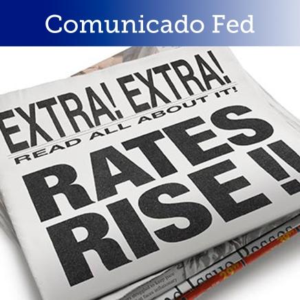 FED, sube tasa en 0.25%; sesgo hawkish en elcomunicado