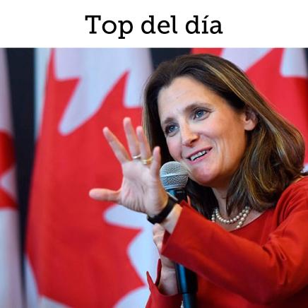 Top del día: Crece optimismo sobre acuerdo trilateral enNorteamérica