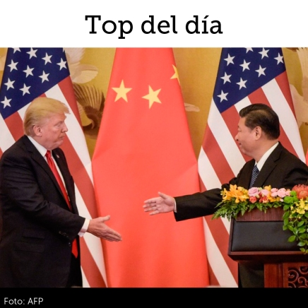 """Top del día: Mercados """"quieren creer"""" en un acuerdocomercial"""