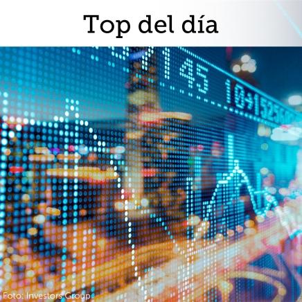 Top del día: Mercados accionarios extienden rebote por  buenos resultados corporativos y datos deempleo