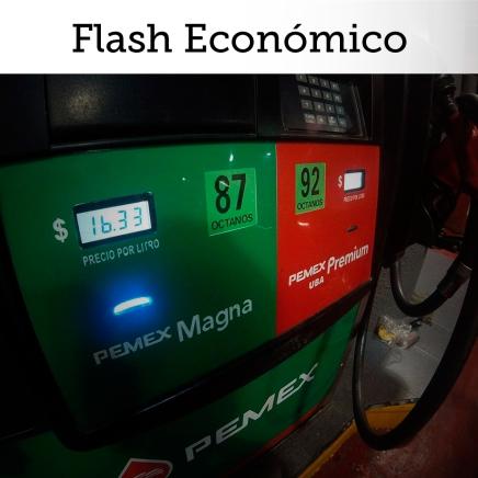 Flash Económico: Inflación de 1q enero por debajo de estimados por menor IVA y precios de gasolina en fronteranorte