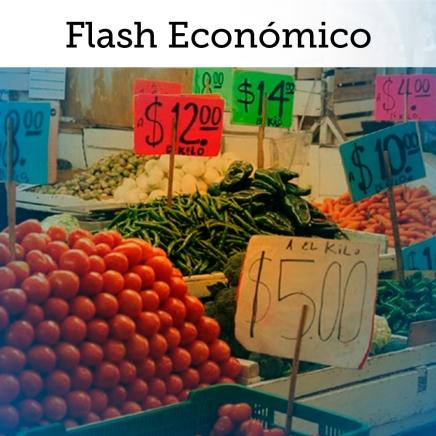 Flash Económico: Inflación regresa al rango esperado por Banxico por 1era vez desde 'gasolinazo'