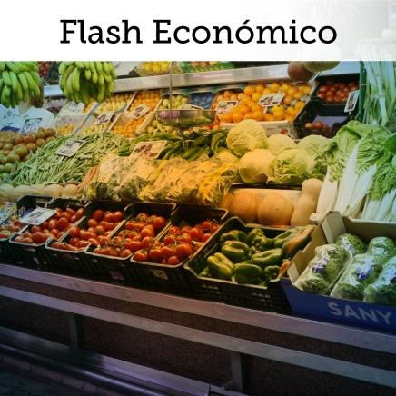FLASH ECONÓMICO: Inflación mensual regresa al rango esperado por Banxico por 1era vez en 2años