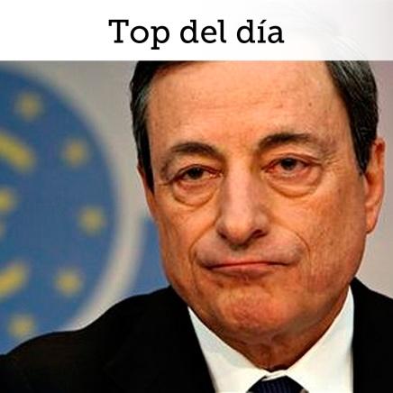 Top del día: BCE regresa al camino del estímulomonetario