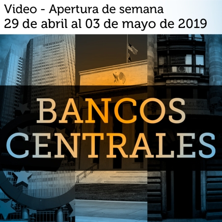Video semanal: Del 29 de abril al 03 de mayo de 2019