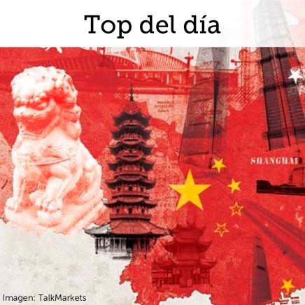 Top del día: Buenos datos en China impulsan mercados en última sesión de lasemana