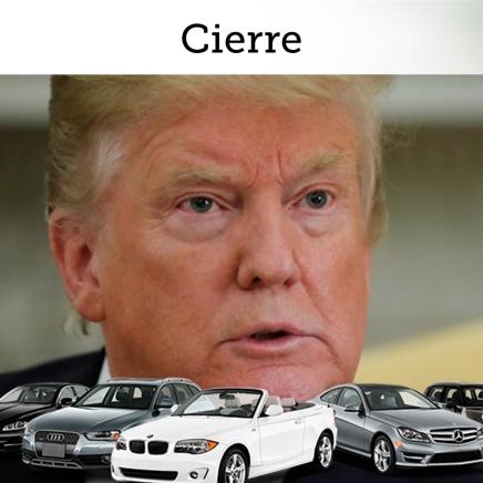 Cierre del día: Trump habría decidido postergar la entrada en vigor de aranceles al sector automotriz y el anuncio se realizaría el próximo fin desemana