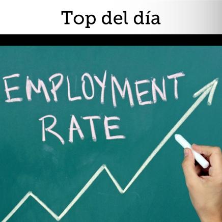 Top del día: Mercados cierran positivos por sólido empleo en EstadosUnidos